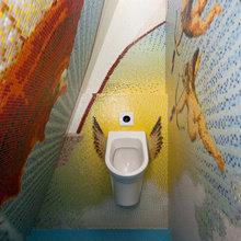 Фотография: Ванная в стиле Современный, Декор интерьера, Офисное пространство, Офис, Дома и квартиры, Проект недели – фото на InMyRoom.ru