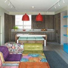Фотография: Кухня и столовая в стиле Лофт, Минимализм, Детская, Эклектика, Квартира, Дома и квартиры, Нью-Йорк – фото на InMyRoom.ru