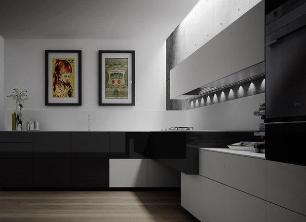 Фотография: Кухня и столовая в стиле Современный, Хай-тек, Интерьер комнат, HOFF, Советы – фото на InMyRoom.ru