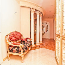 Фотография:  в стиле Классический, Современный, Квартира, Дома и квартиры, Роспись – фото на InMyRoom.ru