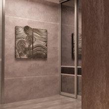 Фото из портфолио Минимализм в интерьере коридора от Design Ideas Crimea – фотографии дизайна интерьеров на INMYROOM