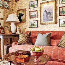 Фотография: Гостиная в стиле Кантри, Классический, Декор интерьера, Декор дома, Картины – фото на InMyRoom.ru