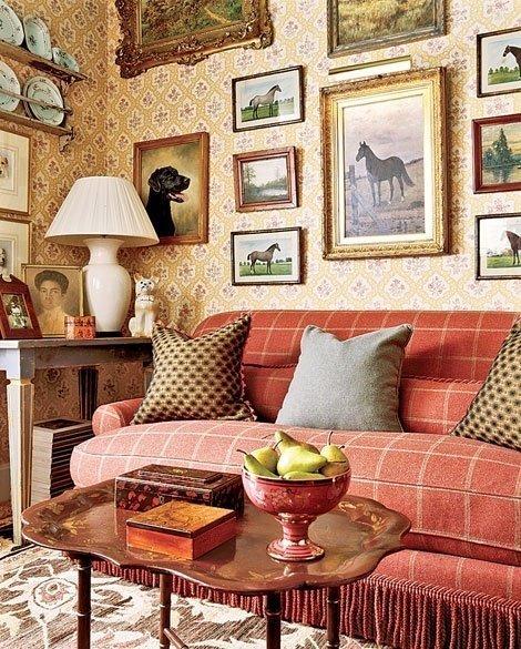 Фотография: Гостиная в стиле Прованс и Кантри, Классический, Декор интерьера, Декор дома, Картины – фото на InMyRoom.ru