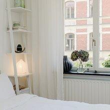 Фотография: Спальня в стиле Скандинавский, Современный, Малогабаритная квартира, Квартира, Швеция, Дома и квартиры – фото на InMyRoom.ru