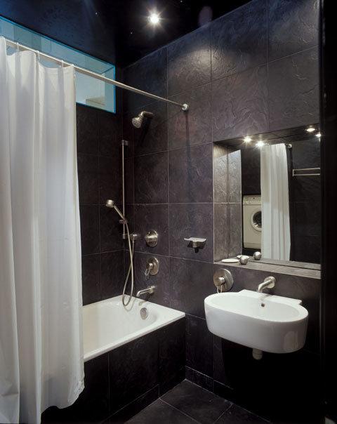 Фотография: Ванная в стиле Современный, Квартира, Дома и квартиры, Интерьеры звезд – фото на InMyRoom.ru