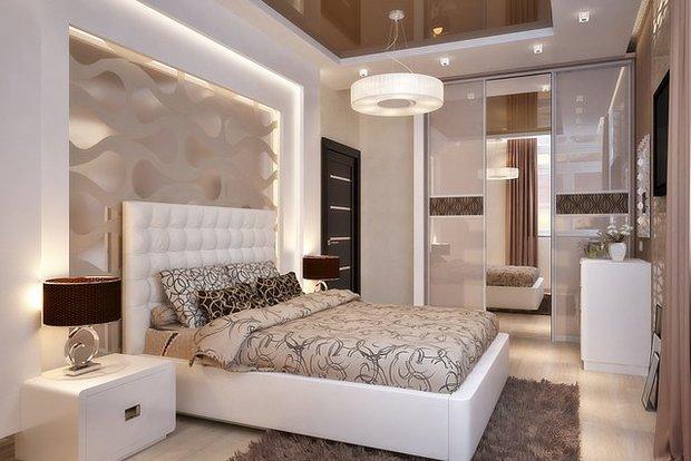 Фотография: Спальня в стиле Современный, Декор интерьера, Декор, Декор дома, Советы – фото на InMyRoom.ru