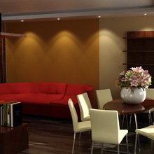 Фото из портфолио Дизайн-проект квартиры 100 кв. м – фотографии дизайна интерьеров на InMyRoom.ru