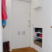 Фотография: Прихожая в стиле Скандинавский, Современный, Интерьер комнат – фото на InMyRoom.ru