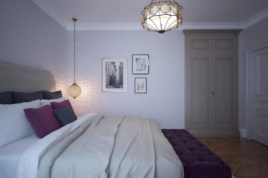 Фотография: Спальня в стиле Прованс и Кантри, Квартира, Проект недели, Санкт-Петербург, Светлана Гаврилова – фото на InMyRoom.ru