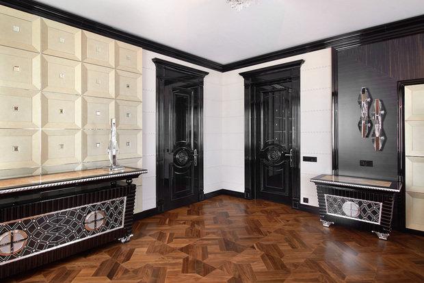Фото из портфолио Глянцевые двери и стеновые панели для квартиры в ар деко – фотографии дизайна интерьеров на INMYROOM