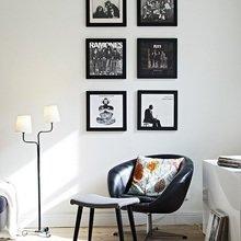 Фотография: Мебель и свет в стиле Скандинавский, Минимализм, Малогабаритная квартира, Квартира, Цвет в интерьере, Дома и квартиры – фото на InMyRoom.ru