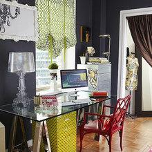 Фотография: Офис в стиле Современный, Эклектика, Стиль жизни, Советы, Окна – фото на InMyRoom.ru