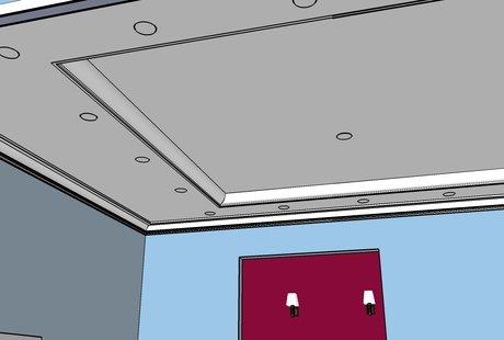 Кажется потолок перегружен или нет?
