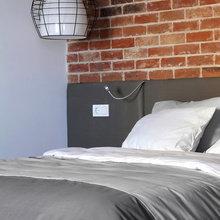 Фотография: Спальня в стиле Лофт, Декор интерьера, Квартира, Дома и квартиры, Проект недели – фото на InMyRoom.ru