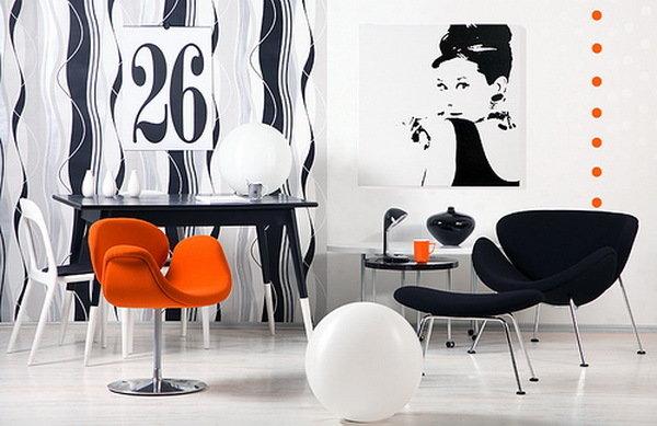Фотография: Мебель и свет в стиле Современный, Хай-тек, Декор интерьера, Дизайн интерьера, Цвет в интерьере – фото на InMyRoom.ru