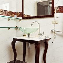 Фотография: Ванная в стиле Классический, Современный, Декор интерьера, Квартира, Дом, Интерьер комнат – фото на InMyRoom.ru