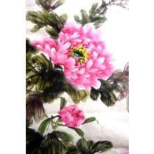 """Дизайнерская картина на холсте """"Колоритный цветок"""""""