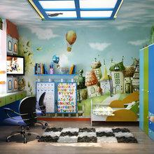 Фотография: Детская в стиле Современный, Декор интерьера, Дом, Декор, Цвет в интерьере, Дома и квартиры, Средиземноморский, Греция – фото на InMyRoom.ru