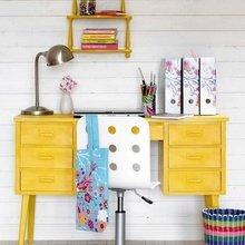 Фотография: Мебель и свет в стиле Кантри, Декор интерьера, Дизайн интерьера, Цвет в интерьере, Желтый – фото на InMyRoom.ru