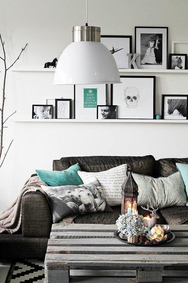 Фотография: Гостиная в стиле Лофт, Современный, Интерьер комнат – фото на InMyRoom.ru