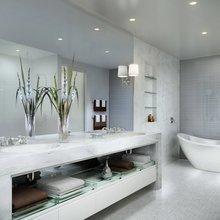 Фотография: Ванная в стиле Кантри, Современный, Декор интерьера, Мебель и свет – фото на InMyRoom.ru