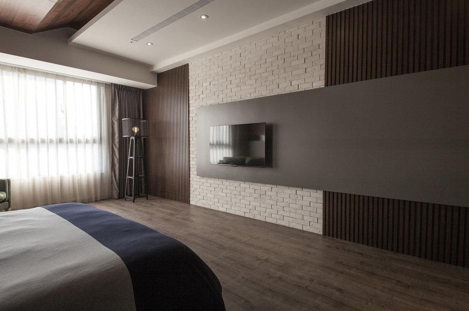 Фотография: Спальня в стиле Лофт, Современный, Дом, Дома и квартиры, Проект недели – фото на InMyRoom.ru