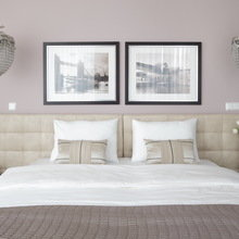 Фотография: Спальня в стиле Современный, Эклектика, Интерьер комнат, Проект недели – фото на InMyRoom.ru