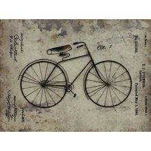 "Декоративное настенное панно ""Bicycle Story"""