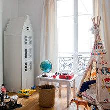 """Фото из портфолио Как превратить """"старую"""" роскошную квартиру в самом центре Парижа в современный семейный дом – фотографии дизайна интерьеров на InMyRoom.ru"""
