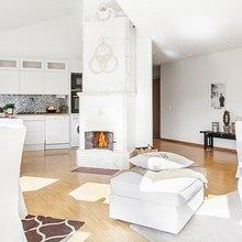 Фотография: Кухня и столовая в стиле Скандинавский, Квартира, Дома и квартиры – фото на InMyRoom.ru