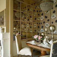 Фотография: Кухня и столовая в стиле , Классический, Эклектика, Квартира, Текстиль, Дома и квартиры – фото на InMyRoom.ru