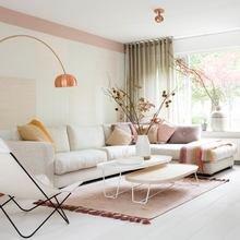 Фото из портфолио  Доминирование розового и персикового цветов в интерьере – фотографии дизайна интерьеров на InMyRoom.ru