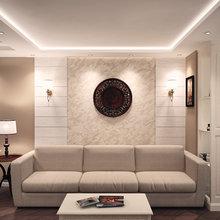 Фото из портфолио Гостиная в Ялте – фотографии дизайна интерьеров на INMYROOM