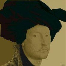 """Портрет """"A man by Van Eyck"""""""