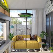 Фото из портфолио Интерьер дачного дома – фотографии дизайна интерьеров на INMYROOM