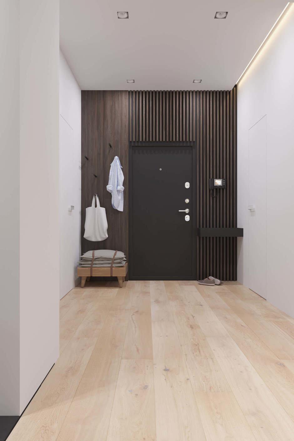 Фотография:  в стиле , Квартира, Проект недели, Москва, Geometrium, 4 и больше, Более 90 метров – фото на InMyRoom.ru