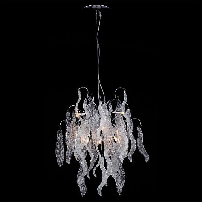 Подвесная люстра Lightstar Vetro Сristallo в стиле арт-деко