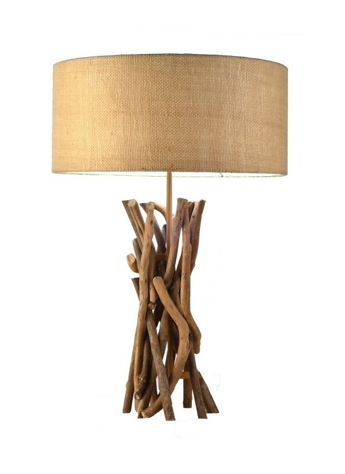 Купить Настольная лампа хворост круг в эко-стиле, inmyroom, Филиппины