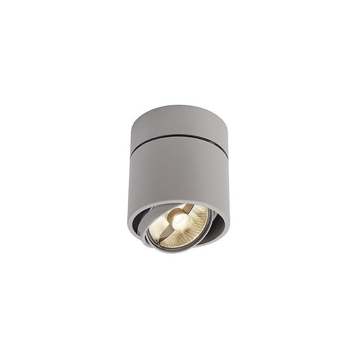 Светильник потолочный CARDAMOD SURFACE ROUND SINGLE серебристый 117164