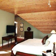Фотография: Спальня в стиле Кантри, Современный, Декор интерьера, Квартира, Дом, Декор дома, Потолок – фото на InMyRoom.ru