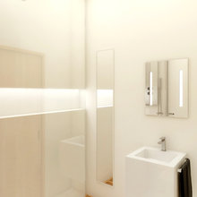 Фото из портфолио 2-х комнатная квартира в стиле минимализм – фотографии дизайна интерьеров на InMyRoom.ru