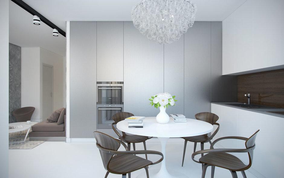 Фотография: Кухня и столовая в стиле Современный, Минимализм,  – фото на InMyRoom.ru