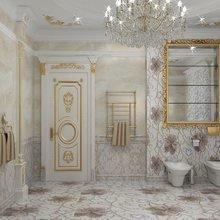 Фото из портфолио Интерьер ванной комнаты от Екатерины Антонович. Брызги лета – фотографии дизайна интерьеров на INMYROOM