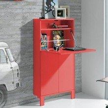 Фотография: Мебель и свет в стиле Лофт, Кабинет, Декор интерьера – фото на InMyRoom.ru