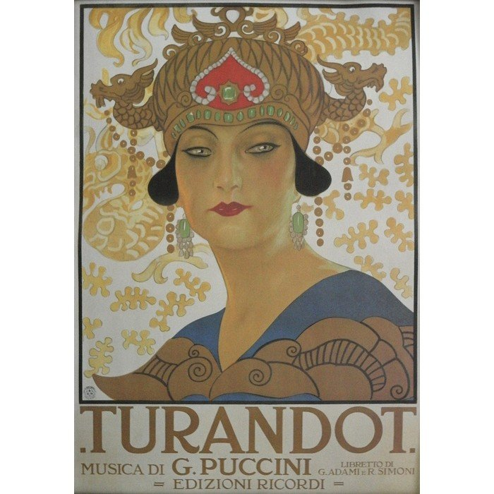 Постер Turandot