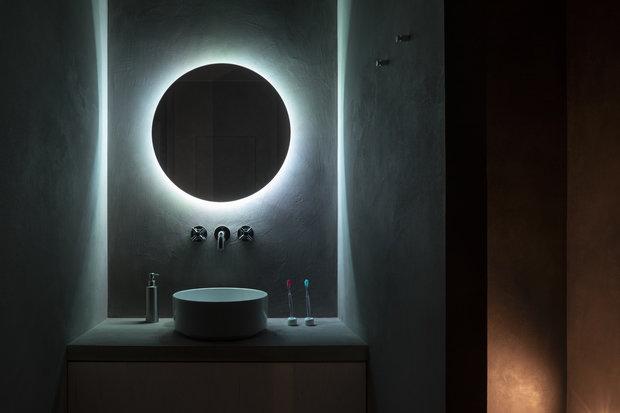 Фотография: Ванная в стиле Лофт, Минимализм, Квартира, Студия, Проект недели, Москва, 40-60 метров, Схема – фото на INMYROOM