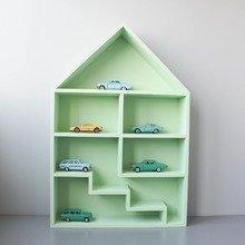 """Кукольный домик """"Milan"""" c лестницей зеленый"""