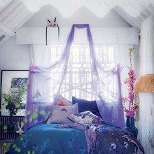 Фотография: Спальня в стиле Кантри, Скандинавский, Интерьер комнат, Кровать, Гардероб, Комод, Пуф, Табурет – фото на InMyRoom.ru