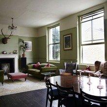 Фотография: Гостиная в стиле Кантри, Дом, Дома и квартиры, Лондон – фото на InMyRoom.ru