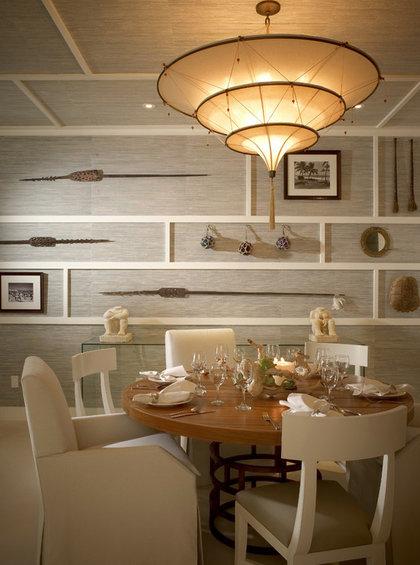 Фотография: Кухня и столовая в стиле Современный, Декор интерьера, Декор дома, Цвет в интерьере, Обои – фото на InMyRoom.ru